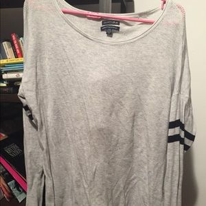 American Eagle amazingly soft grey sweater, size L